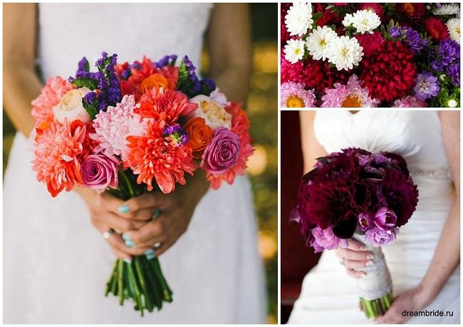 цветы для букетов фото и название: астры