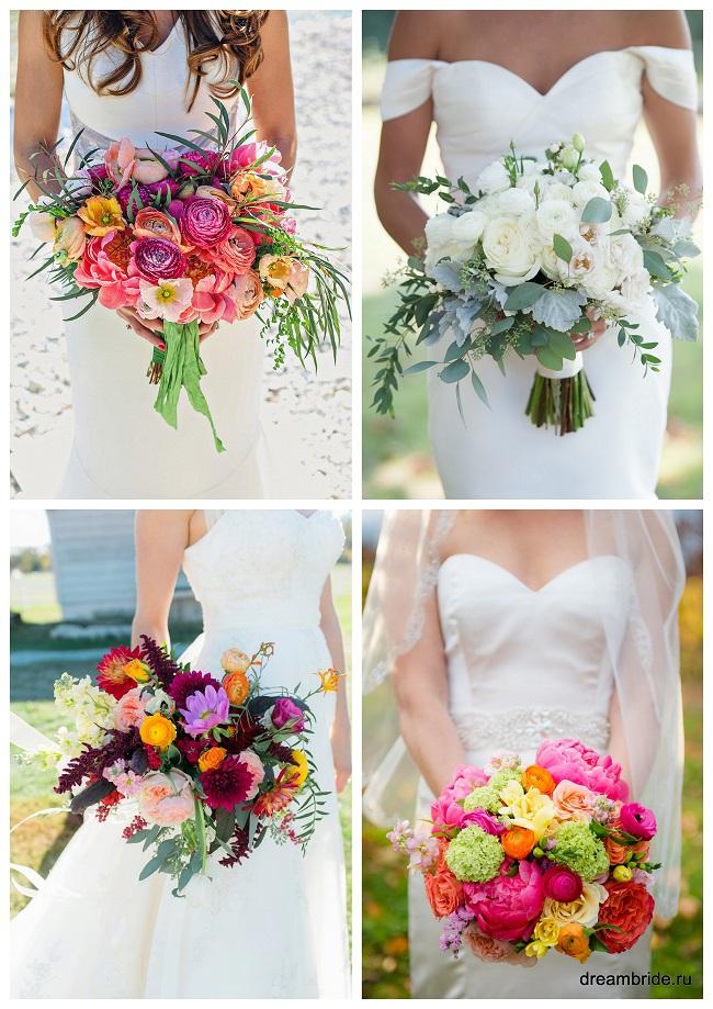 цветы для букетов фото и название: ранункулюсы