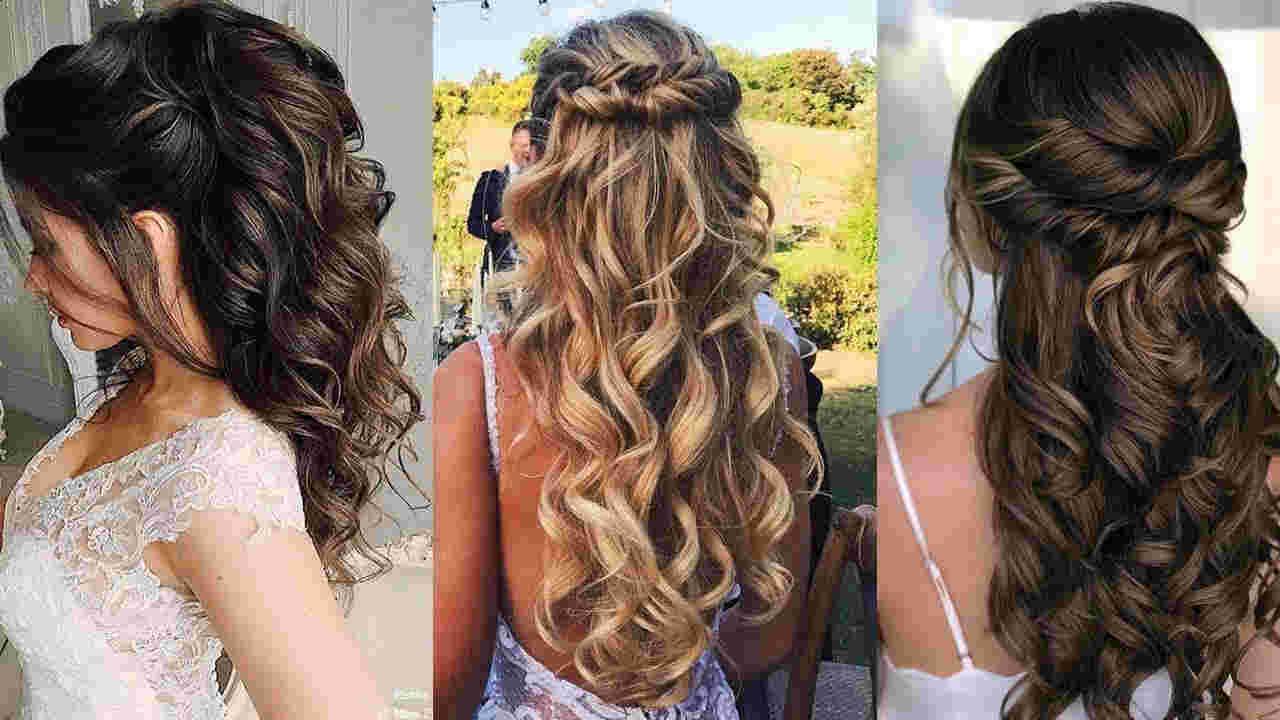 Роскошные свадебные прически на длинные волос