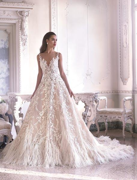 свадебные платья пышные кружевные