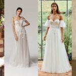 Свадебные платья 2021 - 35 самых модных свадебных платьев | Тенденции 2021 г.