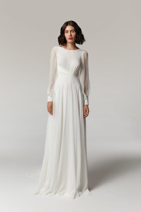 Воздушное платье на свадьбу
