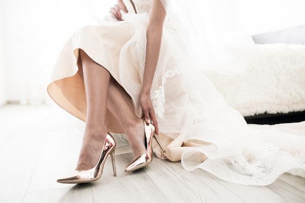 Свадебные суеверия, связанные с туфлями невесты